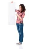 κενό κορίτσι Στοκ φωτογραφία με δικαίωμα ελεύθερης χρήσης
