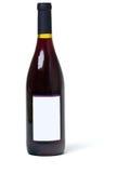 κενό κρασί ετικετών μπουκαλιών Στοκ Εικόνες