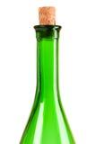 κενό κρασί μπουκαλιών Στοκ Φωτογραφία