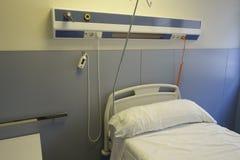 Κενό κρεβάτι σε ένα νοσοκομείο Στοκ Εικόνα