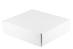 κενό λευκό κιβωτίων Στοκ φωτογραφία με δικαίωμα ελεύθερης χρήσης