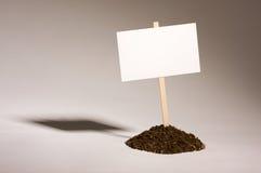 κενό λευκό σημαδιών σωρών ρύ στοκ φωτογραφίες
