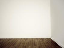 κενό λευκό τοίχων Στοκ Εικόνα