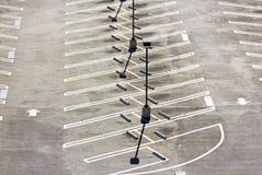 Κενό μέρος χώρων στάθμευσης Στοκ εικόνα με δικαίωμα ελεύθερης χρήσης
