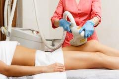 Κενό μασάζ Cosmetology υλικού Στοκ εικόνα με δικαίωμα ελεύθερης χρήσης