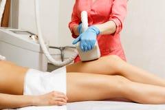 Κενό μασάζ Cosmetology υλικού Στοκ Εικόνες
