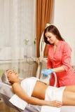 Κενό μασάζ Cosmetology υλικού Στοκ φωτογραφία με δικαίωμα ελεύθερης χρήσης