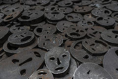 Κενό μνήμης στο εβραϊκό μουσείο στο Βερολίνο, Γερμανία Στοκ φωτογραφία με δικαίωμα ελεύθερης χρήσης