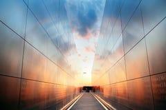 Κενό μνημείο ουρανού Στοκ εικόνες με δικαίωμα ελεύθερης χρήσης