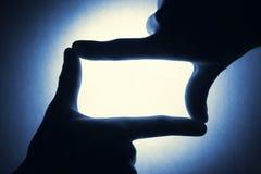 κενό μπλε ανασκόπησης Στοκ εικόνα με δικαίωμα ελεύθερης χρήσης