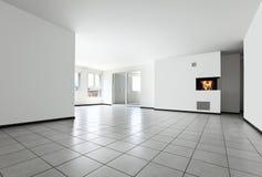 κενό νέο δωμάτιο διαμερισ&m Στοκ Εικόνες