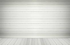 Κενό ξύλινο πάτωμα τοίχων σε ένα κενό δωμάτιο Στοκ φωτογραφίες με δικαίωμα ελεύθερης χρήσης