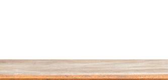 Κενό ξύλινο πιάτο που απομονώνεται στο λευκό Στοκ φωτογραφίες με δικαίωμα ελεύθερης χρήσης