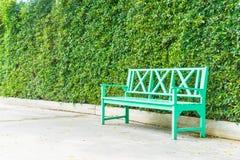 κενό πάρκο πάγκων Στοκ φωτογραφίες με δικαίωμα ελεύθερης χρήσης