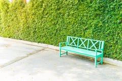 κενό πάρκο πάγκων Στοκ φωτογραφία με δικαίωμα ελεύθερης χρήσης