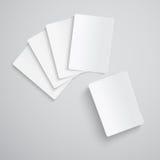 κενό παιχνίδι καρτών Στοκ φωτογραφία με δικαίωμα ελεύθερης χρήσης
