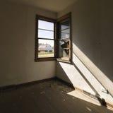 κενό παράθυρο δωματίων Στοκ φωτογραφία με δικαίωμα ελεύθερης χρήσης
