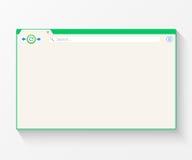 Κενό παράθυρο της μηχανής αναζήτησης Διαδικτύου ελεύθερη απεικόνιση δικαιώματος