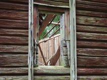 Κενό παράθυρο Στοκ Φωτογραφία