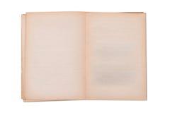 Κενό παλαιό πρότυπο βιβλίων Στοκ Εικόνες