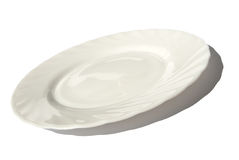 κενό πιάτο γευμάτων Στοκ φωτογραφία με δικαίωμα ελεύθερης χρήσης