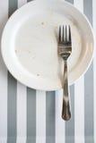 κενό πιάτο στοκ εικόνες με δικαίωμα ελεύθερης χρήσης