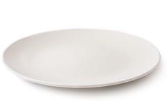 Κενό πιάτο Στοκ εικόνα με δικαίωμα ελεύθερης χρήσης