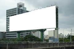 Κενό πινάκων διαφημίσεων για την υπαίθρια αφίσα διαφήμισης ή κενός πίνακας διαφημίσεων στο χρόνο ημέρας για τη διαφήμιση στοκ εικόνες