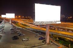 κενό πινάκων διαφημίσεων για την υπαίθρια αφίσα διαφήμισης ή κενό billboar Στοκ φωτογραφία με δικαίωμα ελεύθερης χρήσης