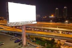 κενό πινάκων διαφημίσεων για την υπαίθρια αφίσα διαφήμισης ή κενό billboar Στοκ Εικόνες