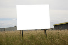 κενό πινάκων διαφημίσεων Στοκ εικόνα με δικαίωμα ελεύθερης χρήσης