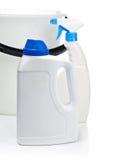 κενό πλαστικό λευκό μπου& Στοκ φωτογραφία με δικαίωμα ελεύθερης χρήσης