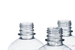 κενό πλαστικό μπουκαλιών &a Στοκ φωτογραφία με δικαίωμα ελεύθερης χρήσης