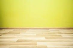 κενό πράσινο δωμάτιο Στοκ Φωτογραφίες