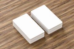 Κενό πρότυπο επαγγελματικών καρτών - πρότυπο, τρισδιάστατη απεικόνιση στοκ φωτογραφία με δικαίωμα ελεύθερης χρήσης