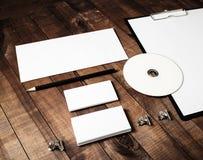 Κενό πρότυπο χαρτικών Στοκ εικόνα με δικαίωμα ελεύθερης χρήσης