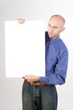 κενό σημάδι ατόμων Στοκ φωτογραφία με δικαίωμα ελεύθερης χρήσης
