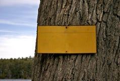 κενό σημάδι Στοκ φωτογραφίες με δικαίωμα ελεύθερης χρήσης