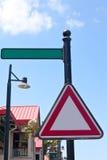 Σημάδι οδών Στοκ Εικόνες