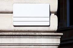 Κενό σημάδι οδών του Λονδίνου Στοκ φωτογραφία με δικαίωμα ελεύθερης χρήσης