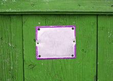 Κενό σημάδι οδών Στοκ φωτογραφία με δικαίωμα ελεύθερης χρήσης
