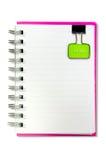 κενό σημειωματάριο ένα προ& στοκ φωτογραφίες με δικαίωμα ελεύθερης χρήσης