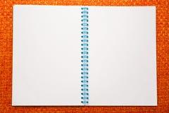 κενό σημειωματάριο Στοκ φωτογραφίες με δικαίωμα ελεύθερης χρήσης
