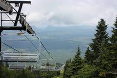 κενό σκι ανελκυστήρων ε&del Στοκ φωτογραφίες με δικαίωμα ελεύθερης χρήσης