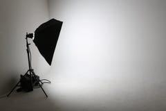 Κενό στούντιο φωτογραφιών Στοκ Εικόνα