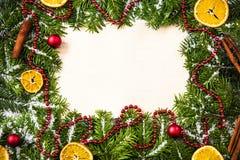 Κενό σχέδιο Χριστουγέννων, υπερυψωμένο Στοκ Εικόνα