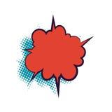 Κενό σύννεφο διαλόγου βιβλίων Comics Στοκ εικόνα με δικαίωμα ελεύθερης χρήσης