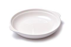 Κενό τηγάνι πιάτων Στοκ φωτογραφία με δικαίωμα ελεύθερης χρήσης