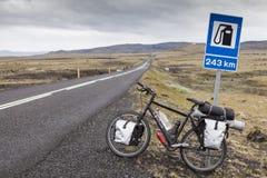 Κενό της Ισλανδίας Στοκ Εικόνες