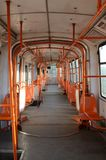 Κενό τραίνο στοκ φωτογραφίες